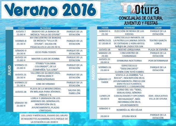 Cartel Verano 2016